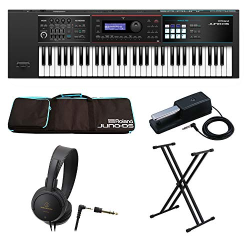 Roland シンセサイザー JUNO-DS61 BK Synthesizer ブラック 【届いてすぐに始められる/MUSICLAND KEYオリジナルエントリーセット】