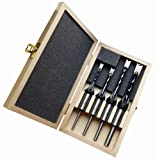 Fisch FSG-320517 | 4Pce Premium Hollow Mortise & Chisel Set | Drill & Mortise...