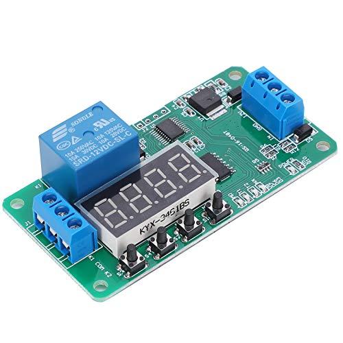 SEDOOM Tablero De Relés De Bloqueo Automático, Componente Electrónico De Sistemas De Iluminación Multifuncional para El Hogar, 12 V CC