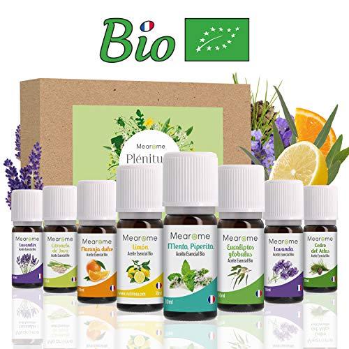 Aceites Esenciales para Humificador, Aromaterapia, 100% Naturales, Bio