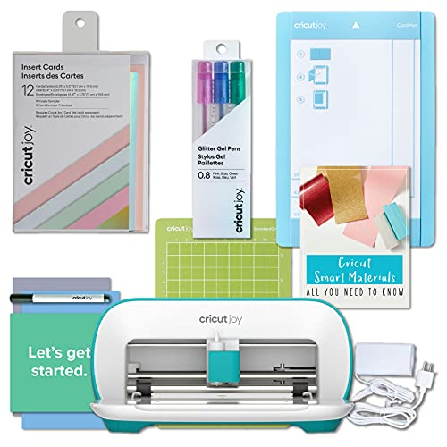 Cricut Joy Machine DIY Card Making Bundle - Sampler Insert Cards, Mat, Gel Pens