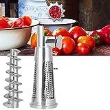 Piezas para picadora de carne, aleación de aluminio y material ABS, accesorios de exprimidor de alta dureza, resistentes al desgaste para tomates, picadora de carne, batidora de cocina
