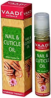 Vaadi Herbals Nail and Cuticle Oil with Jojoba Oil, 10ml