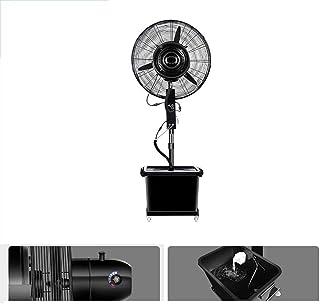 Altura Ajustable del Pedestal del Ventilador, el Motor de Corriente Continua e Industrial Tanque de Agua de Niebla Ventilador (Capacidad 42L) de cebado automático portátil en Interiores y Exteriores,