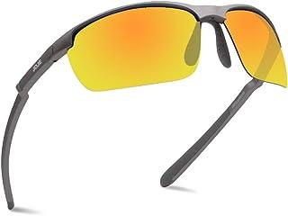 78a75436aa8 JOJEN Polarized Sports Sunglasses for Men Women Cycling Running Golf JE002