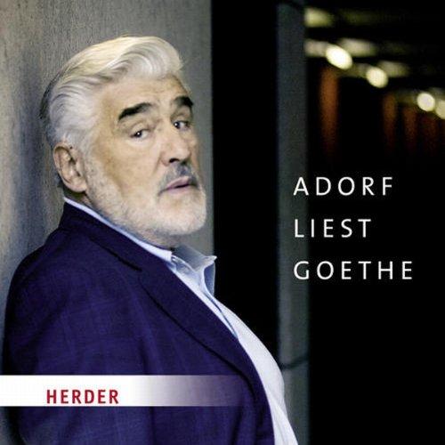 Adorf liest Goethe Titelbild