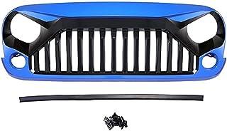 Auto-onderdelen Grilles compatibel met jeep compatibel met Wrangler JK Front Racing Grille Cover Decoratie met Insect Net ...