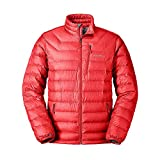 Eddie Bauer Men's Downlight Down Jacket, Pimento Regular L