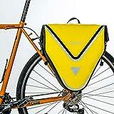 ROCKBROS Bike Panniers for Bicycles Waterproof Bike Pannier Bag 20L Bike Rear Rack Bag Bicycle Panniers for Cycling Trip Grocery Yellow