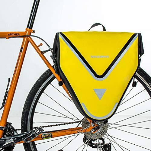 ROCKBROS Bike Panniers for Bicycles Waterproof Bike Pannier...