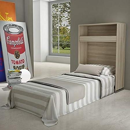 Maconi - Mueble cama Link 539 de madera de 85 cm - Acabado ...