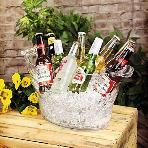 cubo para bebidas cerveza grande Ovalado, diseño de poliestireno