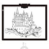 Diamond Painting Light Pad A3, LED Light Box Tracer w/Magnetic Clip & Pen Holder, 3 Level BrightnessUSB Power Dimmable Brightness Artcraft Tracing Light Pad for Drawing Sketching Diamond Painting