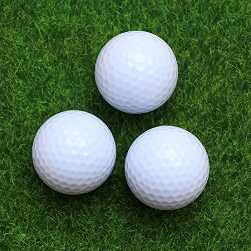 VORCOOL 3 Piezas Bolas de Golf, Pelotas de Golf Luminosas, Bolas de Golf Colores, Brilla en la Oscuridad, Bola de Golf de Noche Reutilizable de Larga duración