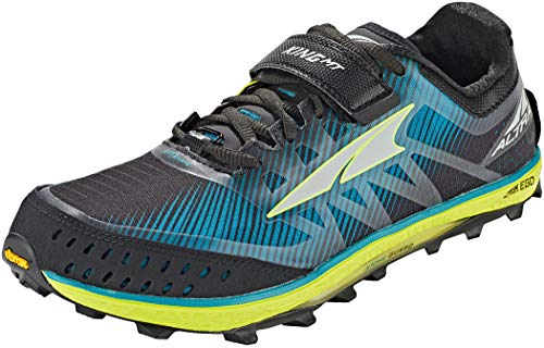 ALTRA Men's King MT 2 Trail Running Shoe, Teal/Lime - 15 M US