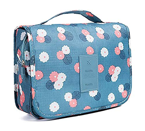 Multifunctional Travel Toiletry Bag Organizer Handy Cosmetic Pouch Makeup Bag for Women Girls