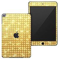 igsticker iPad mini 4 (2015) 5 (2019) 専用 全面スキンシール apple アップル アイパッド 第4世代 第5世代 A1538 A1550 A2124 A2126 A2133 シール フル ステッカー 保護シール 002458 ラグジュアリー ゴールド シンプル