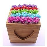 Alfileres De Novia Originales - 50 Alfileres de Novia presentados en dos cajas de madera con tapa - Ideal para Regalar a Tus Invitadas.