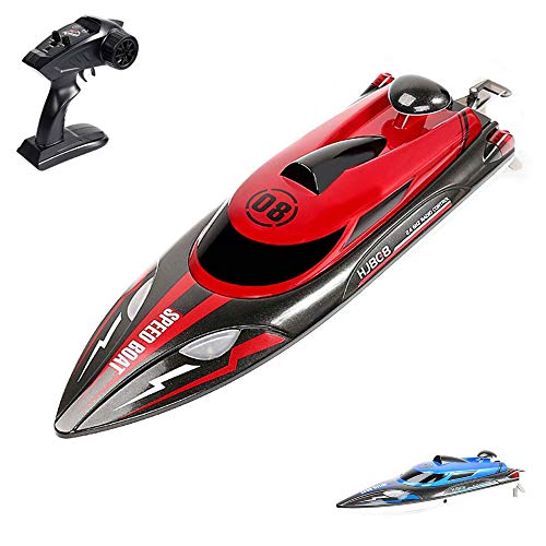 HSP Himoto Highspeed RC ferngesteuertes Speedboot mit 2,4GHz digital vollproportional, Aufrichtfunktion, Boot Racing Rennboot-Modell mit Top-Speed Komplett-Set