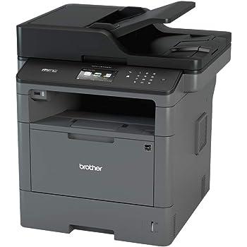 Brother MFCL5700DN Stampante Multifunzione Laser con Fax, Bianco e Nero, Velocità di Stampa 40 ppm, Rete Cablata (no Wi-Fi), Stampa Fronte/Retro Automatica, Display Touchscreen a Colori da 9.3 cm