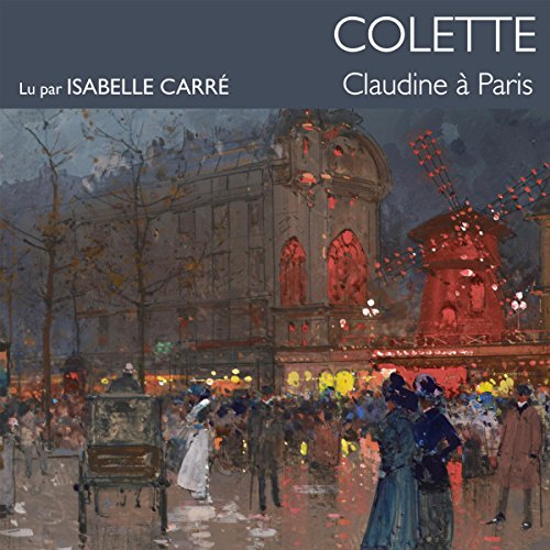 Claudine à Paris audiobook cover art
