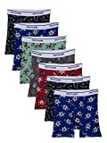 Fruit of the Loom Toddler Boys' Boxer Briefs (Assorted), Cotton-7 Pack-Assorted, 4T/5T