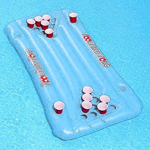 Supporto gonfiabile della tazza del galleggiante 24 della piscina del salotto del materasso della birra del PVC per l'estate