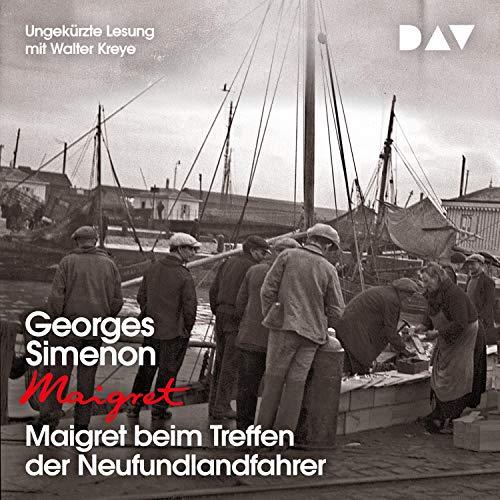 Maigret beim Treffen der Neufundlandfahrer cover art