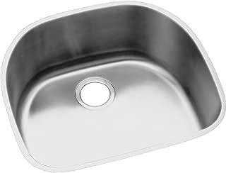 Elkay Lustertone ELUH211810 Single Bowl Undermount Stainless Steel Kitchen Sink