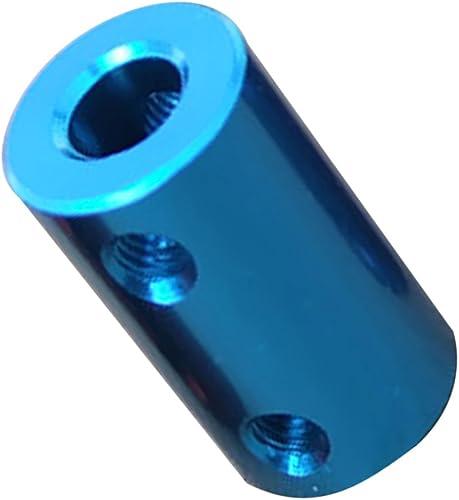Segolike Flexible Shaft Coupling Motor Coupler Connector w/Spanner Screws Set 2/3/4/5/6/8/10mm - 6.35-8mm