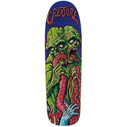 Creature Skateboards-Brett/Deck, 23,78 cm, Goretesque Violett/Grün
