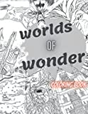 worlds of wonder coloring book: Wonders Of The World Coloring Book