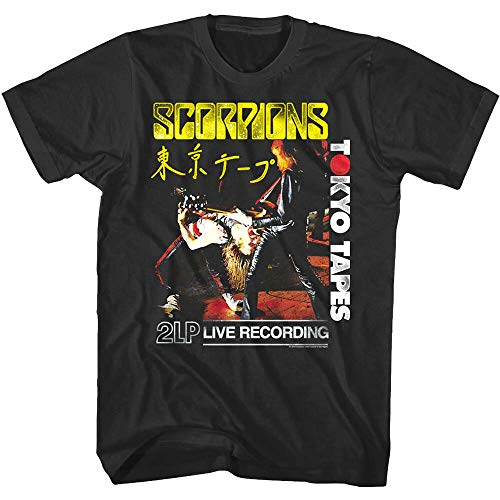 Scorpions Tokyo Tapes Album Cover Art Men's T-shirt Japanse live rock band tour
