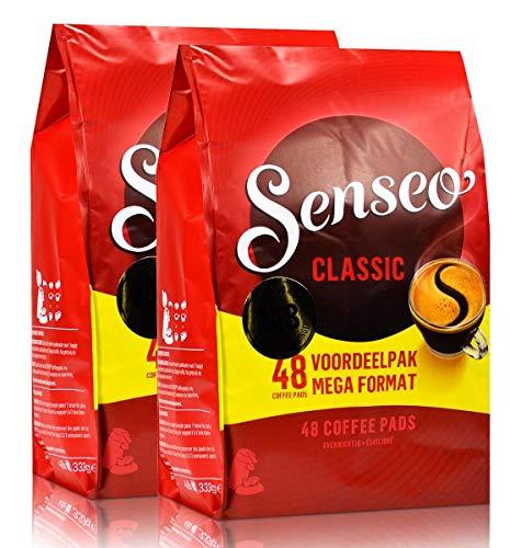 2 paquets de capsules de café Senseo Classic Plus intense et savoureux 96 capsules