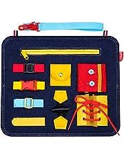 SUNTOY Educatieve Montessori Activiteit Bezet Board Speelgoed voor Peuters Meisjes Jongens - Ideaal Kinderen Leren Gift