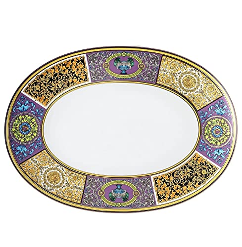 Barocco Mosaic - Plato ovalado (38 cm)
