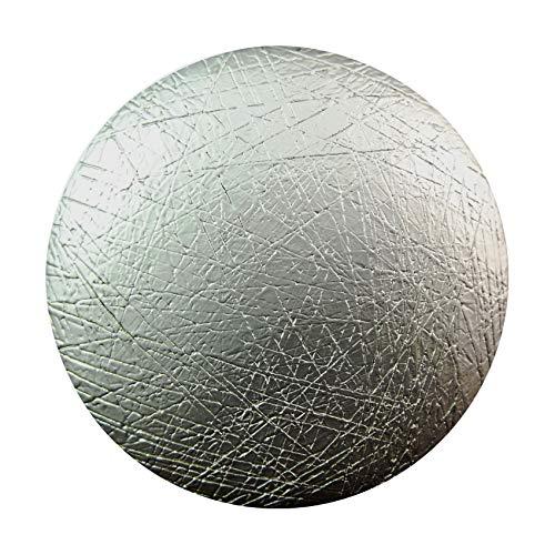 Magnetbrosche, Clip, Schmuckanhänger, Tuchhalter, Kreis 43mm, rund, gebürstet,