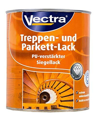 Vectra Pu verstärkt Treppenlack Parkettlack matt 2,5 Liter