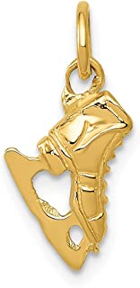 Jewels By Lux 14K Yellow Gold Ice Skate Charm
