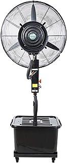 YC Ventilador De Piso Eléctrico Ultra Grande para Exteriores Comercial Spray Industrial Ventilador Eléctrico Potente Atomización Refrigerada por Agua Más Enfriamiento con Hielo Húmedo