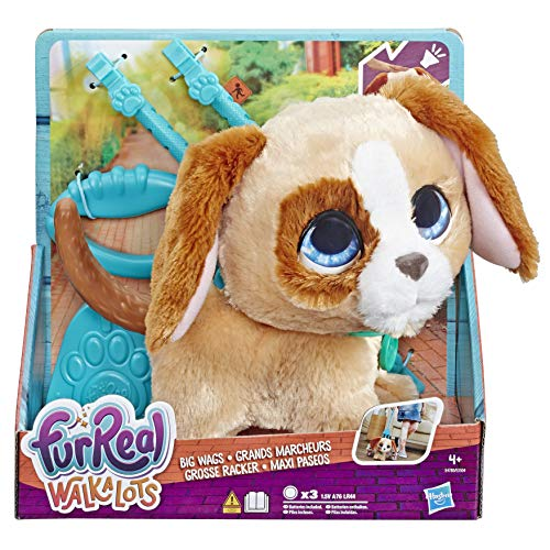 FURREAL FRIENDS E4780ES1 Frr Walkalots Big Dog, Multicolour
