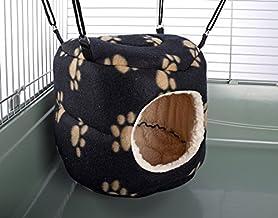 Little Friends - Juguete para hurón de Rata con diseño de roedores, Color Negro