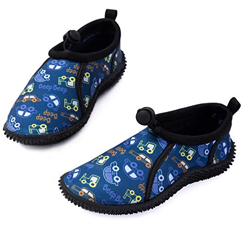 mysoft New Water Shoes, Car, 7 Toddler