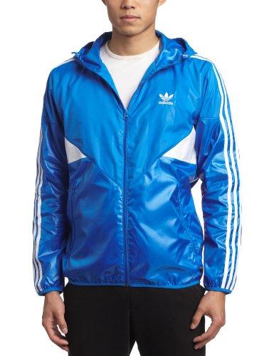 adidas Strisce Originals Colorado giacca a vento Trefoil giacca blu bianco Blue XL