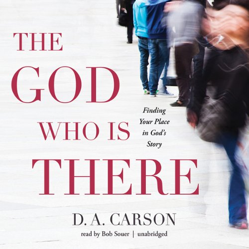 The God Who Is There audiobook cover art