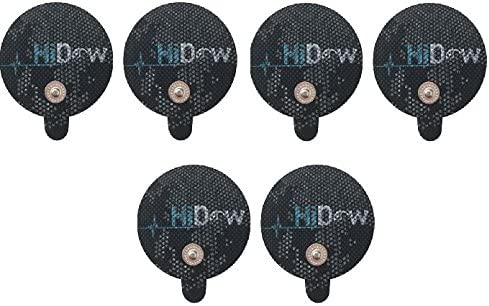 HiDow Latest item Replacement Pads Finally popular brand 3 Pairs TENS Large Electrodes Premi