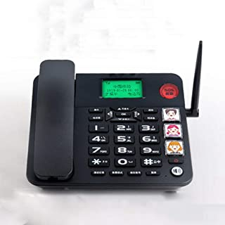 LULUD Fixed Telephone - Corded Telephones Home - Retro Landline Phone - Corded Telephones with Answer Machine (Color : B)