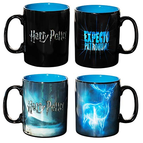 ABYstyle - HARRY POTTER - Tazza cambia colore con calore - 460 ml - Patronus