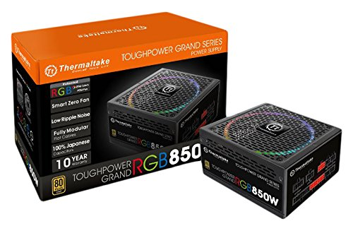 Thermaltake CSP-328 Fuente de Poder Toughpower Grand RGB 850W/80Plus Gold/Negro/ATX/Modular,