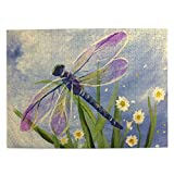 Dragonfly Wild Animal Easy Painting Jigsaw Puzzle 500 Piece - Large Puzzle Game Toys for Adults & Teens